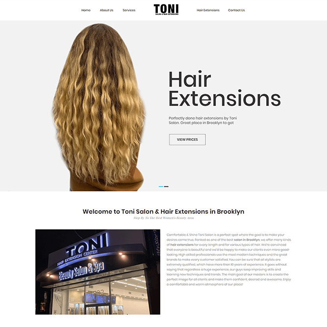 Toni Hair Extensions thumbnail