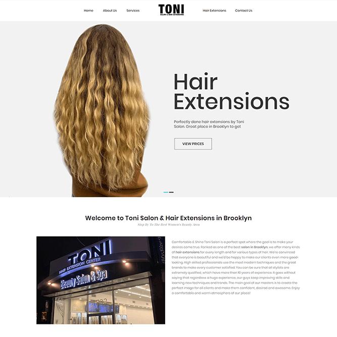 Toni Hair Extensions thumbnail
