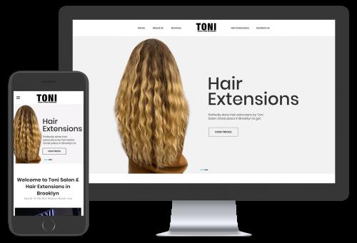 Toni Hair Extensions portfolio 1