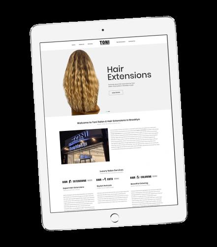 Toni Hair Extensions portfolio 5
